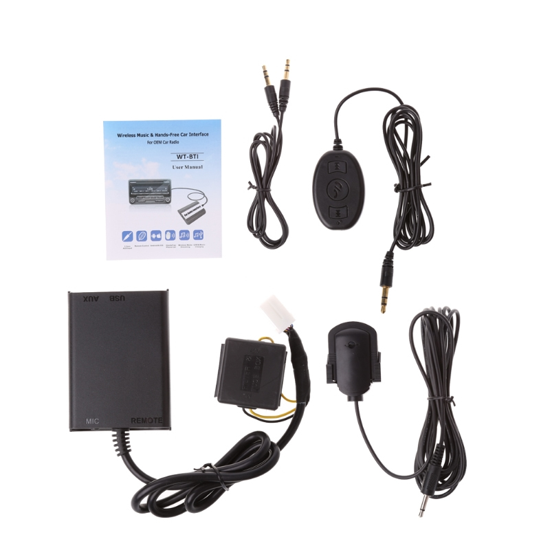 Auto Hands free Bluetooth Kits Stereo AUX Adapter Interface For Honda Civic Accord Car Styling Bluetooth