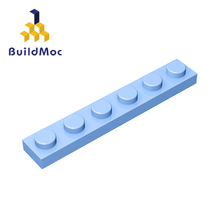 BuildMOC Compatible With Assembles Particles 3666 1x6 For Building Blocks Parts DIY Educational Creative Gift Toys