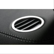 2 шт Тюнинг автомобилей для Mercedes benz ML GLE W166 купе C292 GLS кондиционер для приборной панели vent Обложка отделкой аксессуары