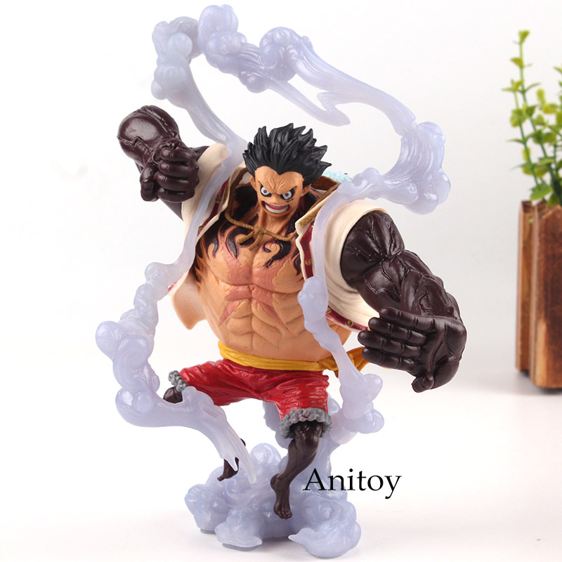 One Piece Figure One Piece Luffy Gear 4 Figure PVC Monkey D Luffy Gear Fourth Collection Model Toy for BoysOne Piece Figure One Piece Luffy Gear 4 Figure PVC Monkey D Luffy Gear Fourth Collection Model Toy for Boys