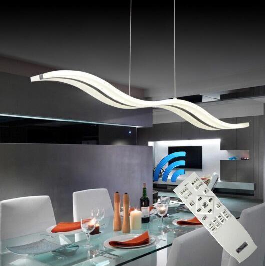 38w dimmable LED Chandeliers Lamp White Acrylic Chandelier Light lighting luminaire Lustre for Living Dinning Room Bedroom S