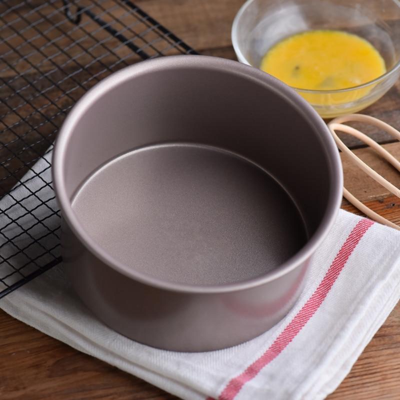 Moule antiadhésif pour gâteau fromage | Outil de cuisson pour gâteau, gâteau de riz à la vapeur de 6- 8 pouces, cuisson de gâteaux à la vapeur
