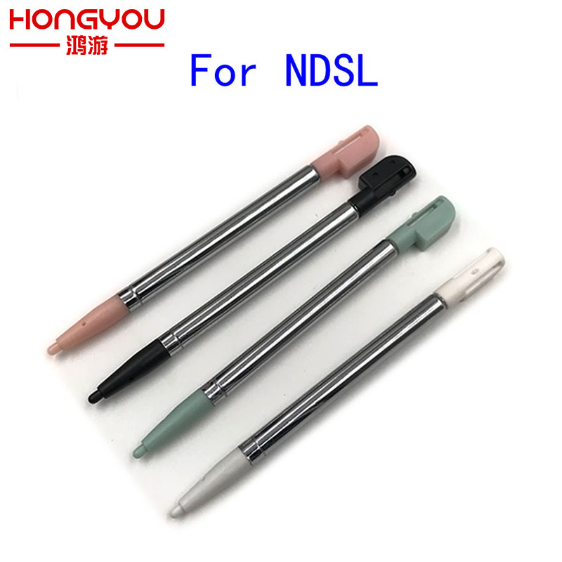 Replacement Stylus For NDSL Touch Screen Pen Metal Retractable Stylus Touch Pen For Nintendo NDSL
