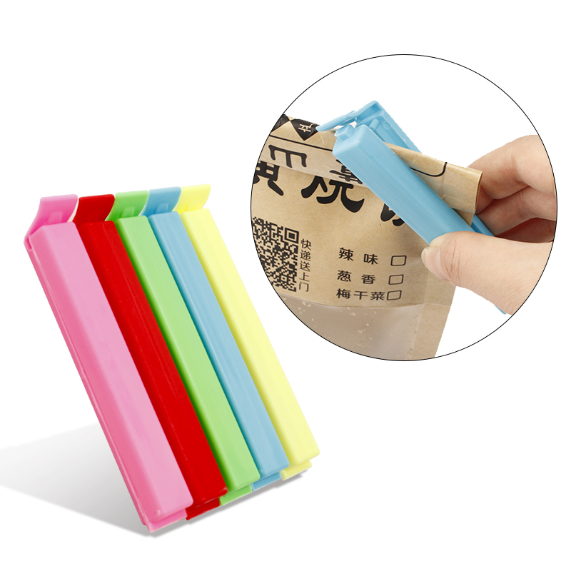 Sealing Clips Kitchen Storage Food Snack Seal Sealing Bag Clips Clamp Plastic Tool