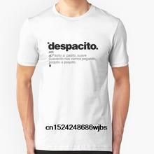 Moda Cool hombres camiseta mujeres camiseta Despacito personalizado impreso  camiseta(China) dc8488715bd78