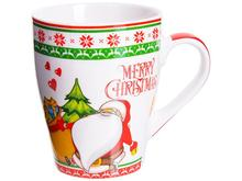 Кружка LORAINE, MERRY CHRISTMAS, 340 мл, подарочная упаковка