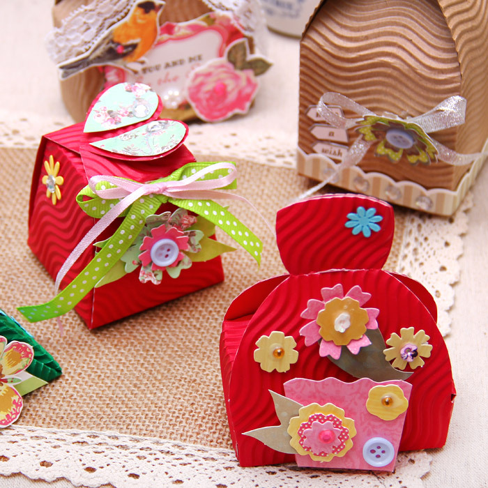 how to make favor boxes out of paper