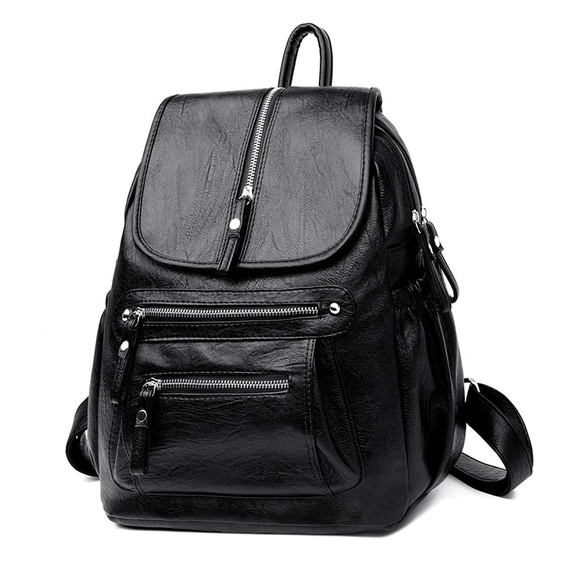 Backpack Bags for Women 2019 Luxury Famous Brands Knapsack Female Casual Daily Daybag Large Capacity Rucksack Bags Work UseBag-in Backpacks from Luggage & Bags    2