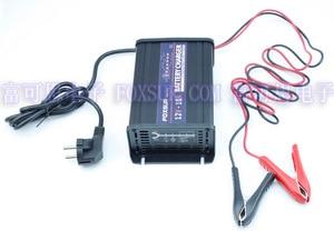 Image 3 - FOXSUR wholesale original 12V 10A 7 stage smart Lead Acid Battery Charger Car battery charger  Input voltage: 180 260V AC, 50Hz