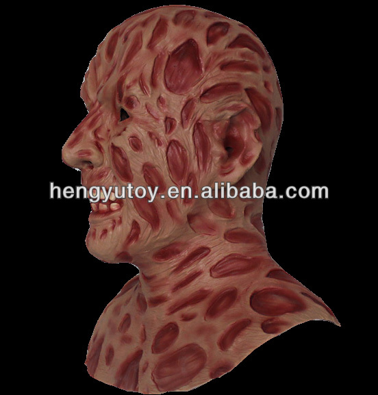 2014 Adult Party Costume Deluxe Design Wholesale Toys Freddy krueger Mask With realistic appearance
