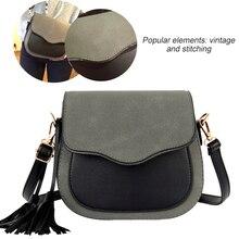 2019 New Trend Women Handbags Retro Simple Flap Fashion Shoulder Bag Tassel Ornaments Woman Messenger Bag