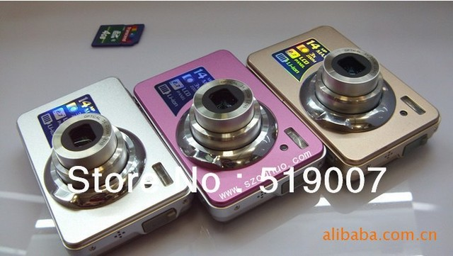 DC-K10 Camera used for takeing pictures and videotaping CMOS1400 light-sensitive components, 3 x optical zoom,Free Shipping