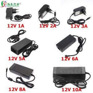 Image 1 - Trasformatore di alimentazione a bassa tensione per LED, adattatore di alimentazione a LED a corrente alternata da 220V a cc 12V 1A 2A 3A 5A 6A 8A 10A