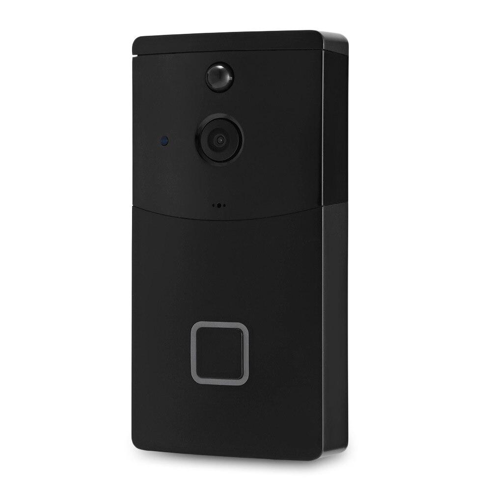 B10 multifonctionnel WiFi vidéo sonnette faible consommation d'énergie avec Audio bidirectionnel/Vision nocturne