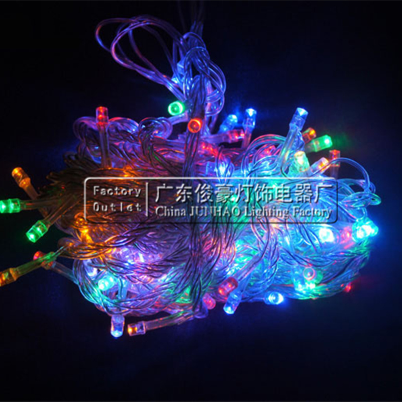 Multicolour LED String Light 10m 20m 30m 50m 100m Decoration Light for Christmas Party Wedding With 8 Display Modes strip light