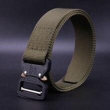 Nylon Belt Men Army Tactical Belt Molle Military SWAT Combat Belts Knock Off Emergency Survival Waist Tactical Gear Dropship