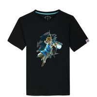 Hot Game The Legend of Zelda T shirt Skirt Cotton Summer O neck Short Sleeves cotton Casual Tees Tops
