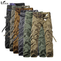 2017 Brand Hot Sale New Fashion casual cotton military sweatpants sweat Man Joggers camouflage camo cargo Pants men plus Size
