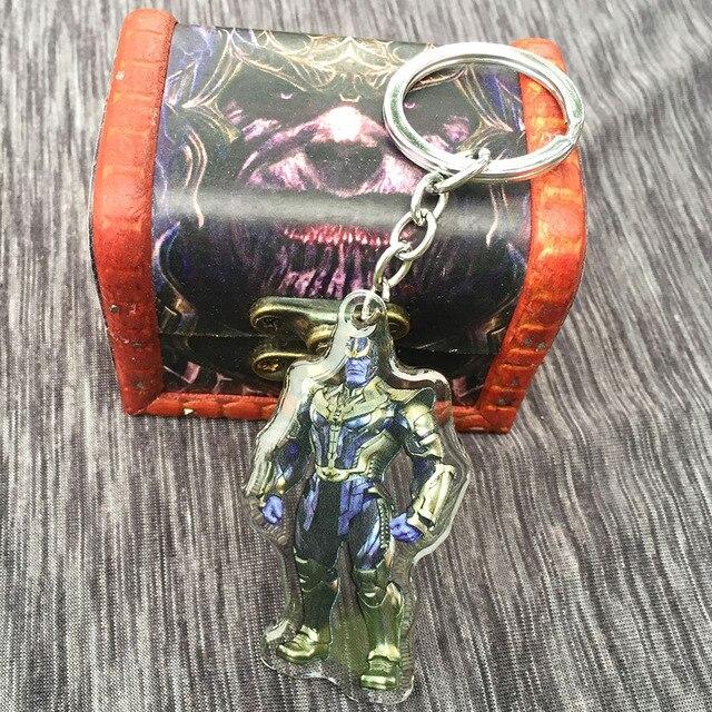 Акриловый брелок и кулон Танос Мстители: война бесконечности 3
