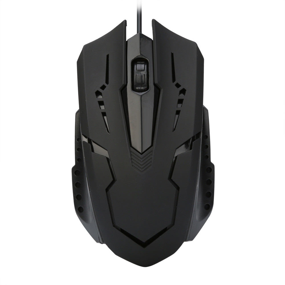 VOBERRY Mouse Wired Optical-Gaming-Mouse Compatible Mac Window Or XP Vista Ios Latest-Version