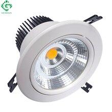 LED Downlights Down Light 7W 10W 12W 15W 20W 30W 40W 50W Round Recessed Downlight Adjustable Ceiling Spot Lamps Kitchen Lighting