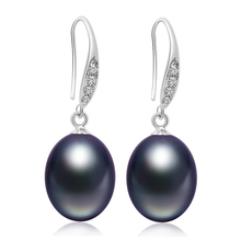 Freshwater Pearl Earring with Drop Earrings 9mm Pearls Jewelry For Women Summer Style 3 Color for