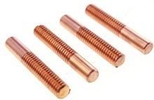 5pcs M4*40*60mm Right-handed tungsten copper thread electrode spark discharge electrode цена