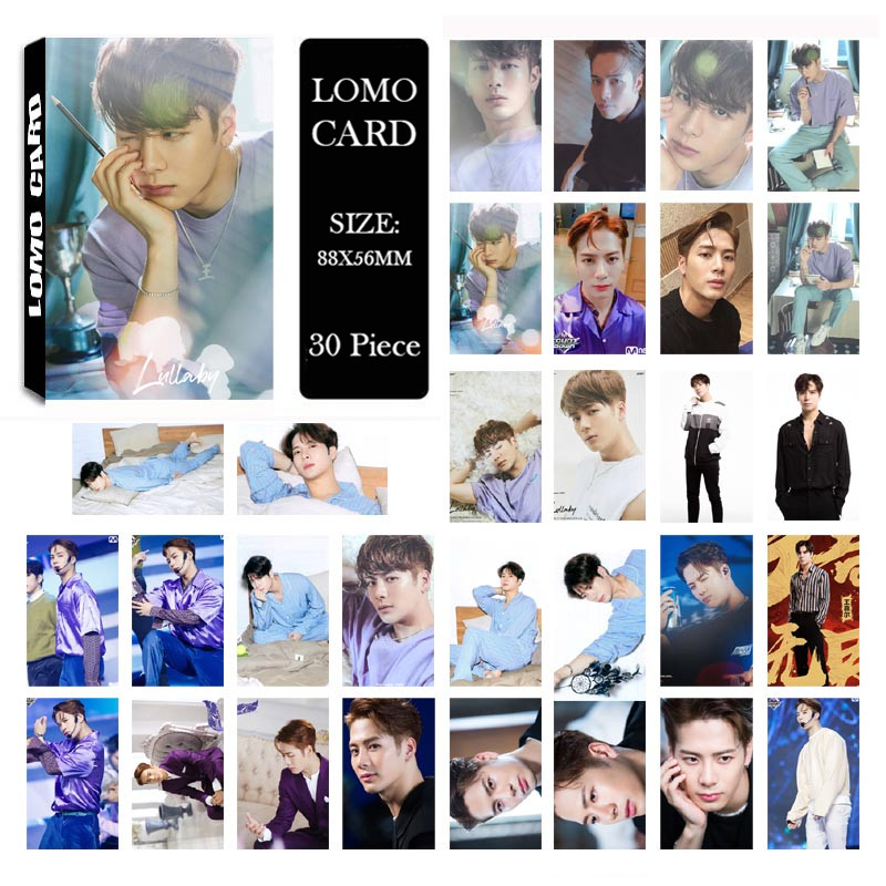 Beads & Jewelry Making Jewelry Findings & Components Kpop Got7 Fly Album Mark Jackson Yugyeom Lomo Cards K-pop New Fashion Self Made Paper Photo Card Hd Photocard