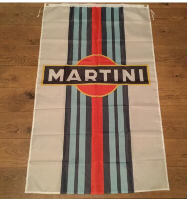 Martini <font><b>flag</b></font> <font><b>90x150cm</b></font> with 100D Polyester custom digital print single side banner image