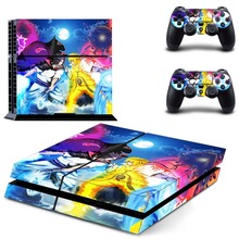 Naruto PS4 Skin Sticker Decal Vinyl for Sony Playstation 4 Console and 2 Controllers PS4 Skin Sticker