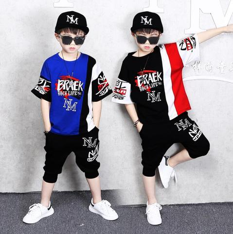camisetas shorts pcs set moda infantil bonito