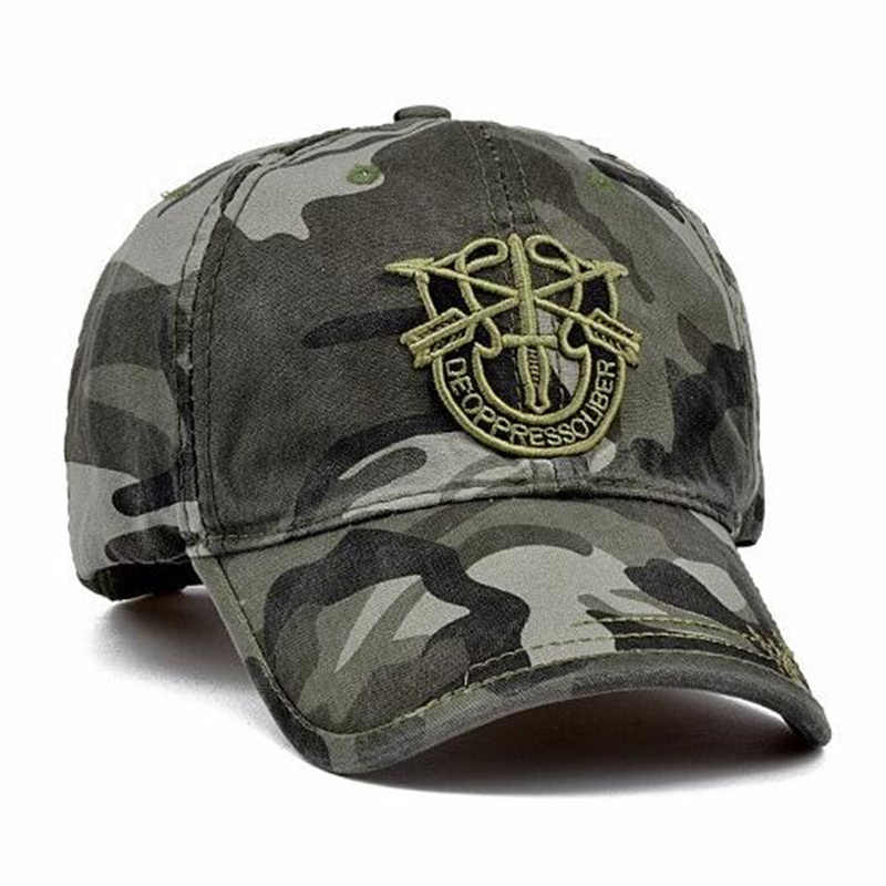 645fd6f56f8 ... TUNICA New Fashion Army Camo Baseball Cap Men Women Tactical Washed Sun  Hat Letter Adjustable Camouflage ...