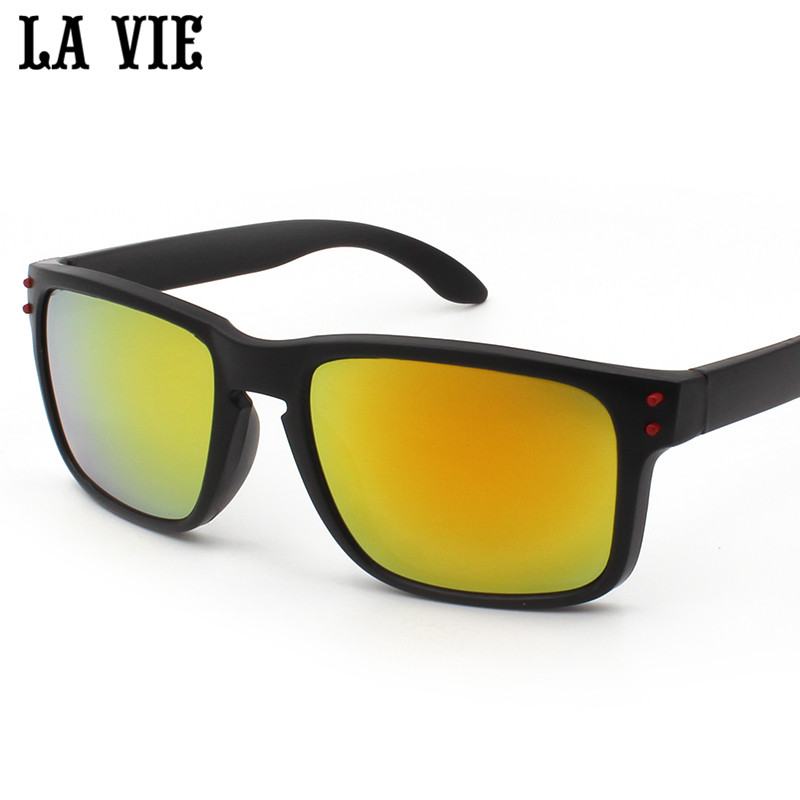 LA VIE Men Driving Sunglasses Mirror Black Super Light Eyewear Male Sun Glasses UV400 oculos de sol feminino LV0709 2