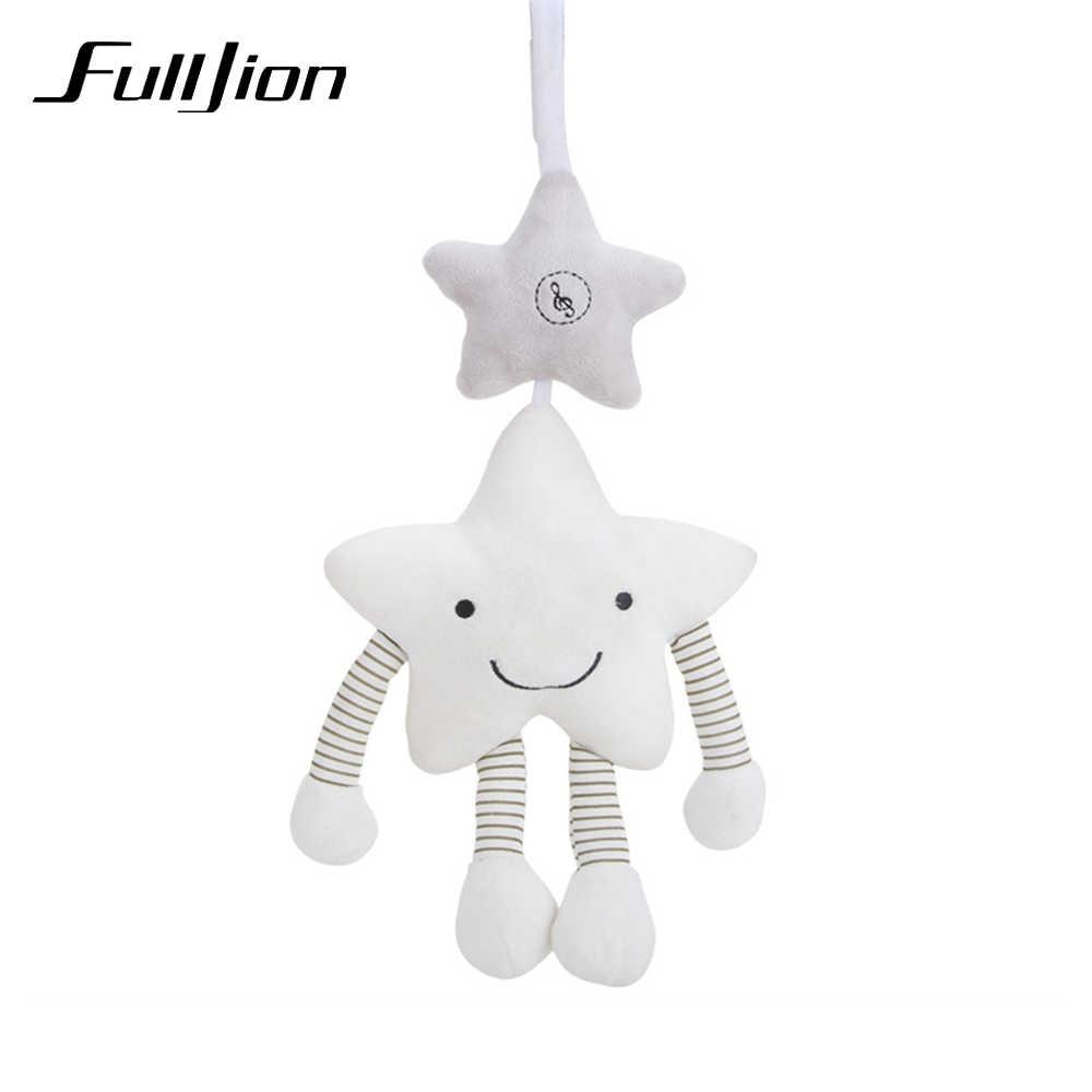 Fulljion Baby Rattles โทรศัพท์มือถือเด็กวัยหัดเดินของเล่น Star รถเข็นเด็ก Rattle ของเล่นสำหรับ Bebe Soft เด็กทารกดนตรี Crib การศึกษา Bed Bell ตุ๊กตา