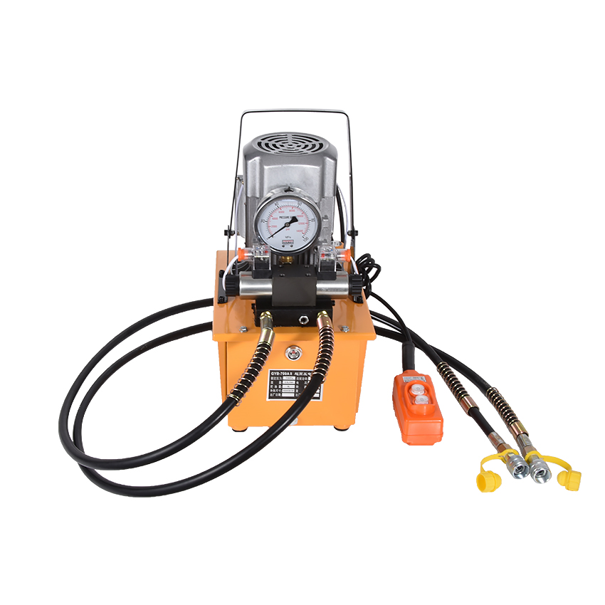 220 V Double Action pompe hydraulique électrique GYB-700AII capacité du réservoir 7L pompe à moteur hydraulique 1400r/min