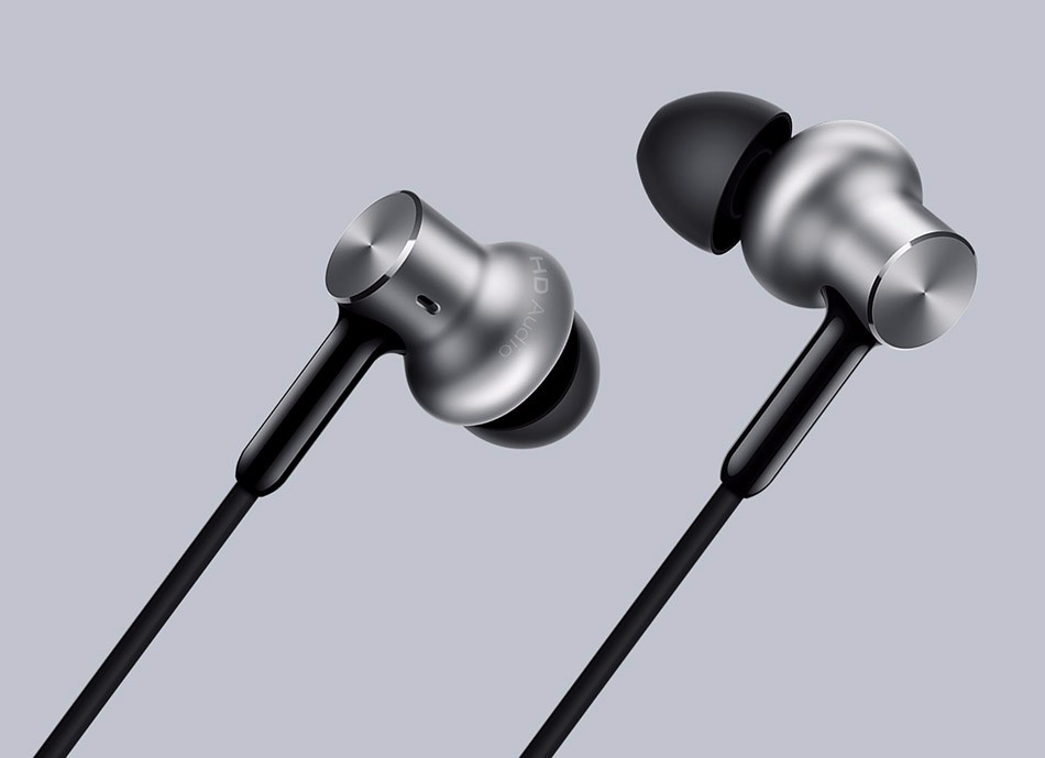 In Stock Original Newest Xiaomi Mi Hybrid Pro HD Earphone Triple Driver | Mi In-Ear Pro HD | Circle Iron Pro Mic 100% original xiaomi hybrid pro hd earphone with mic in ear hifi noise canceling headset circle iron mixed for xiaomi note4 mi 6