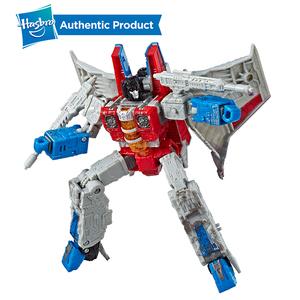 Image 3 - Hasbro Transformers Cybertron Voyager WFC S24 Decepticons Starscream Soundwave 모델 키즈 완구 액션 피규어