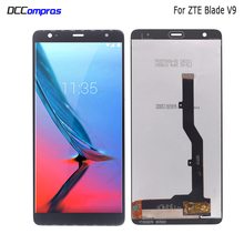 лучшая цена For ZTE Blade V9 LCD Display Touch Screen Digitizer Aseembly Replacement For ZTE Blade V9 Screen LCD Phone Parts Free Tools