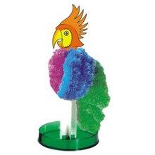 2017 Colour Magical Grow Parrot Trees Magic Growing Paper Tree Arbre Magique Science Christmas Kids Toys For Children 10Pcs/Lot