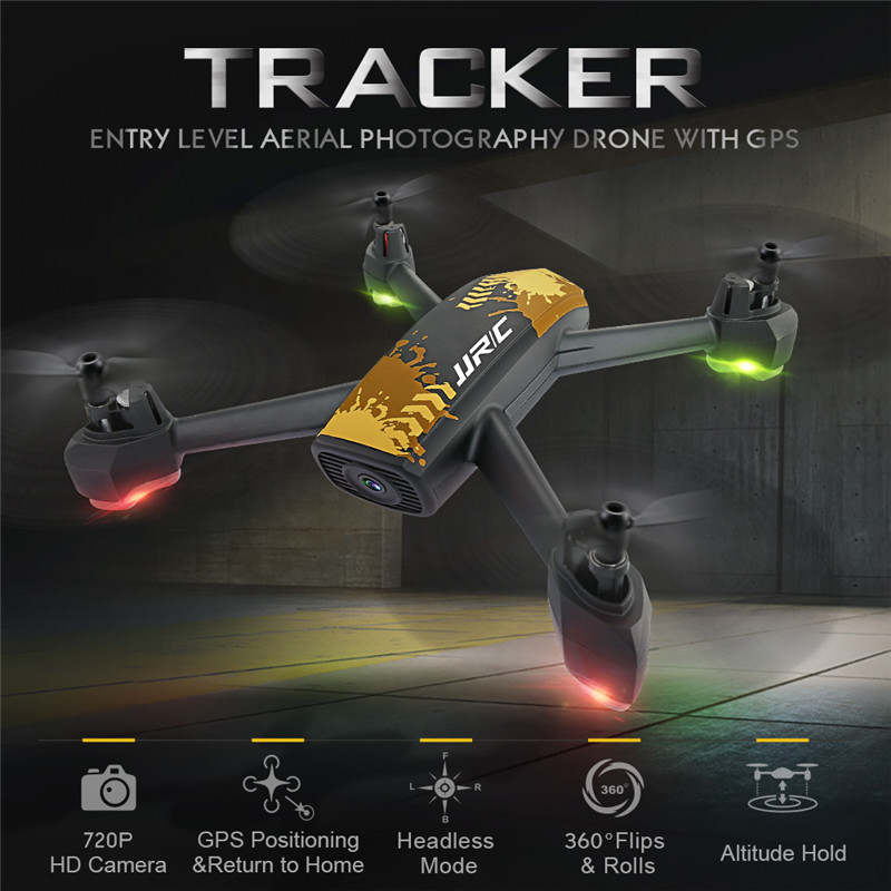 JJRC H55 TRACKER WIFI FPV With 720P HD Camera GPS Positioning RC Drone Quadcopter Camouflage RTF Mode Toy Dron VS JJPRO P130 H37 jjr c jjrc h39wh wifi fpv with 720p camera high hold foldable arm app rc drones fpv quadcopter helicopter toy rtf vs h37 h31