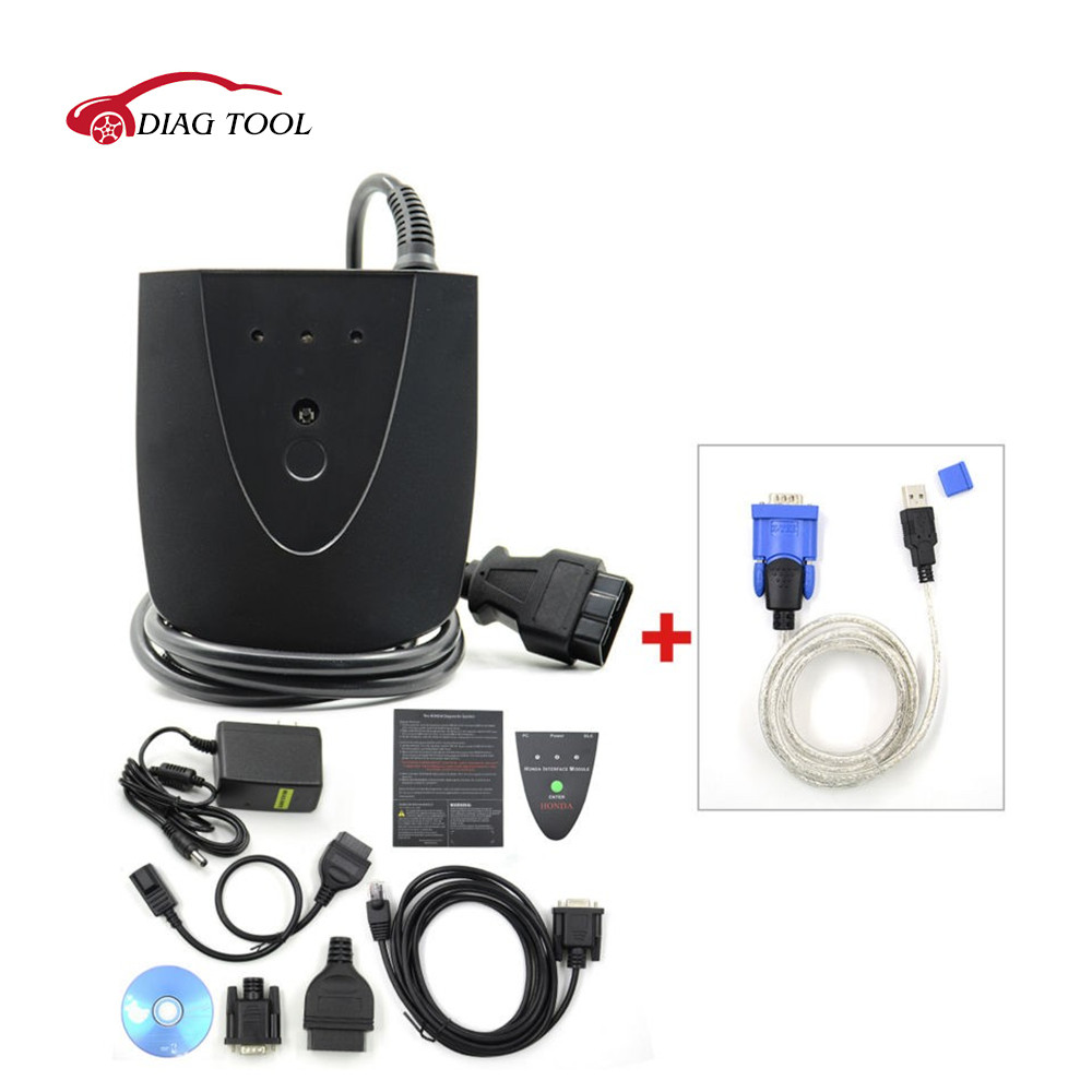 3.101.015 Newest Version Diagnostic Tool for Honda HDS HIM Scan Tool with Double Board with Fast Shipping