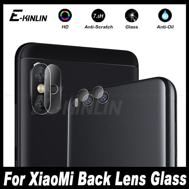 quality design 2c534 0bb7a US $1.07 43% OFF|Back Camera Lens Protective For XiaoMi Mi A2 Lite A1 5X 5S  Plus Redmi 6A 6 Pro Mi6 Note 3 Tempered Glass Screen Protector Film-in ...
