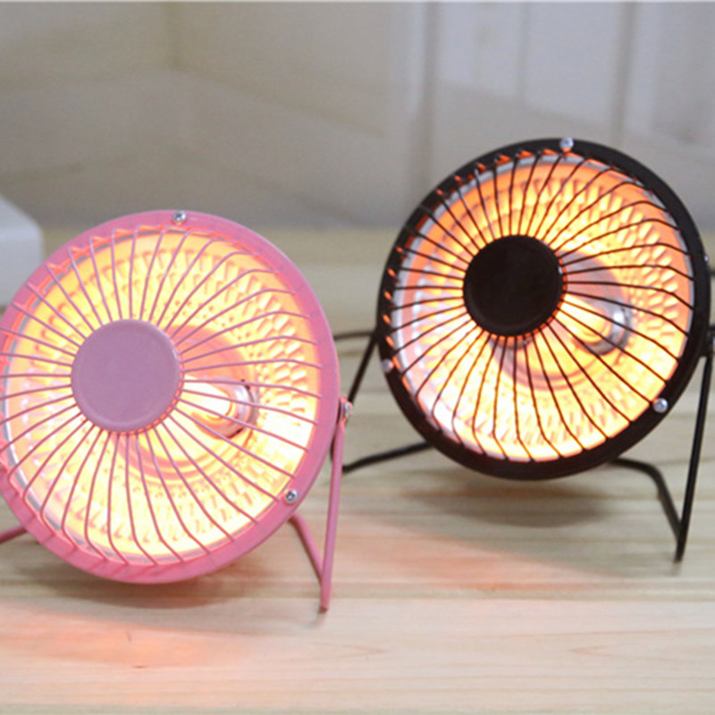 Mini Portable Handy Heater Warm Fan Heating Desktop  4inch  Electric Home Air Heater