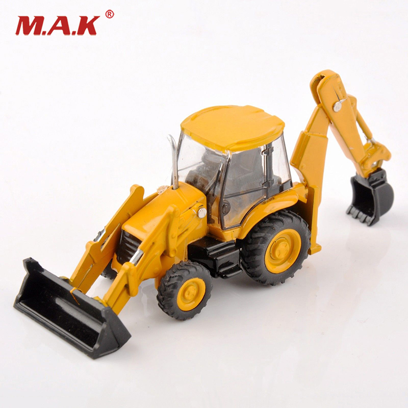 1:87 Scale Diecast Metal JCB 3CX-4T Excavator Engeering Model Loader Construction Truck Car Vehicles for Collection