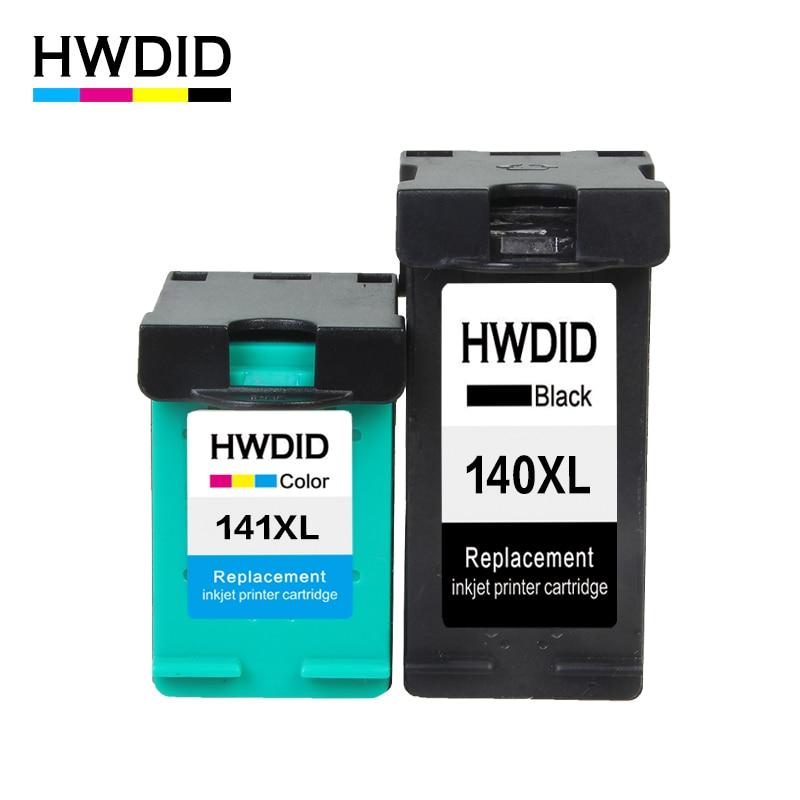 2Pcs ink Cartridge For HP 140 141 140XL 141XL For HP Photosmart C4283 C4583 C4483 C5283 D5363 Deskjet D4263 D4363 PRINTER