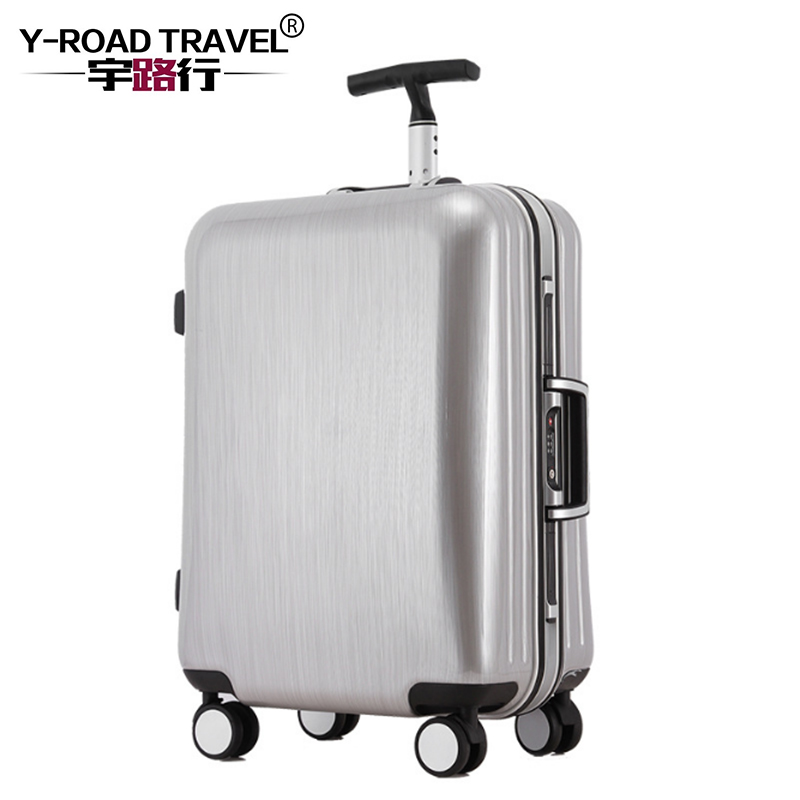 4 Size Rolling Luggage Suitcase Boarding Case travel luggage Case Spinner Cases Trolley Hardside Cabin luggage Carry on Suitcase