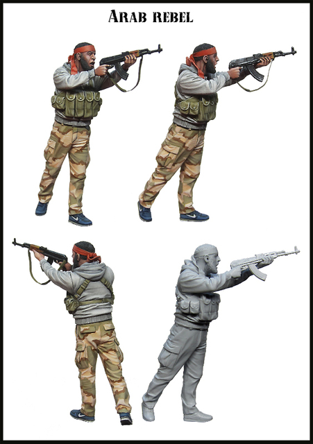 1:35 scale resin model kit resin figure model soldier D0147