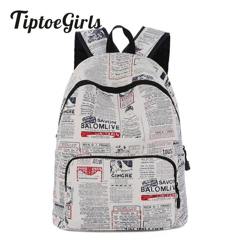 2018 jesień nowa osobowość na płótnie panie plecak wysokiej jakości uczeń torba duża pojemność dorywczo dzikie podróży plecak