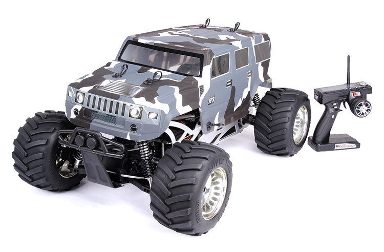 1:5 rc car Baja Hummer Truck BM275 4WD Powerfull engine Big monster 4WD truck 61 caliber motorcycle modified muffler sc exhaust pipe laser marking carbon fiber exhaust for large displacement motorcycle