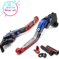 New Combo CNC handle sets+Foldable Adjustable Brake Clutch Lever For YAMAHA YZF R6 1999 2004 2003 2002 2001 2010